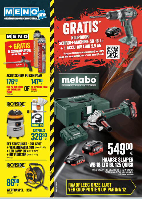 Menu Pro Brochure NL